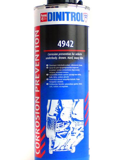 Динитрол 4942, Dinitrol 4942, антикор днища Динитрол 4942, Купить Dinitrol 4942, шумоизоляция днища Динитрол 4942